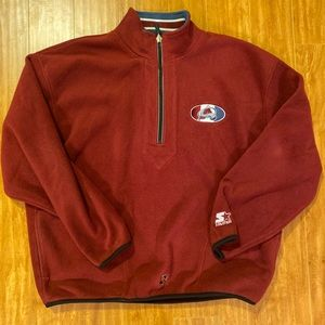 Vintage Colorado Avalanche Fleece Jacket